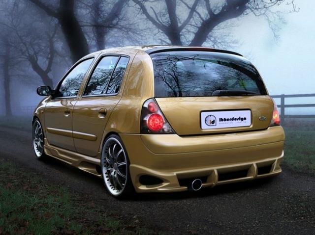 Rear Bumper Renault Clio II